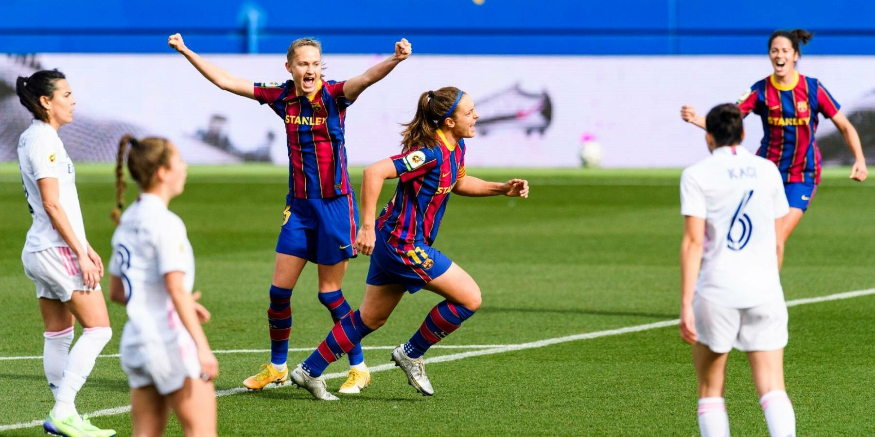 Alèxia Putellas celebra un gol | FC Barcelona