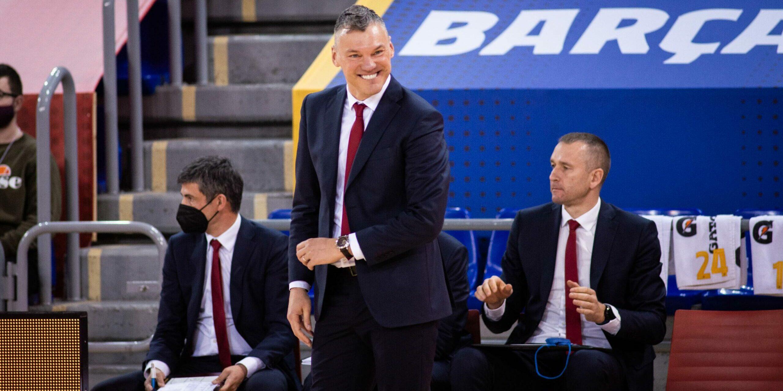 Sarunas Jasikevicius, entrenador del Barça | FC Barcelona