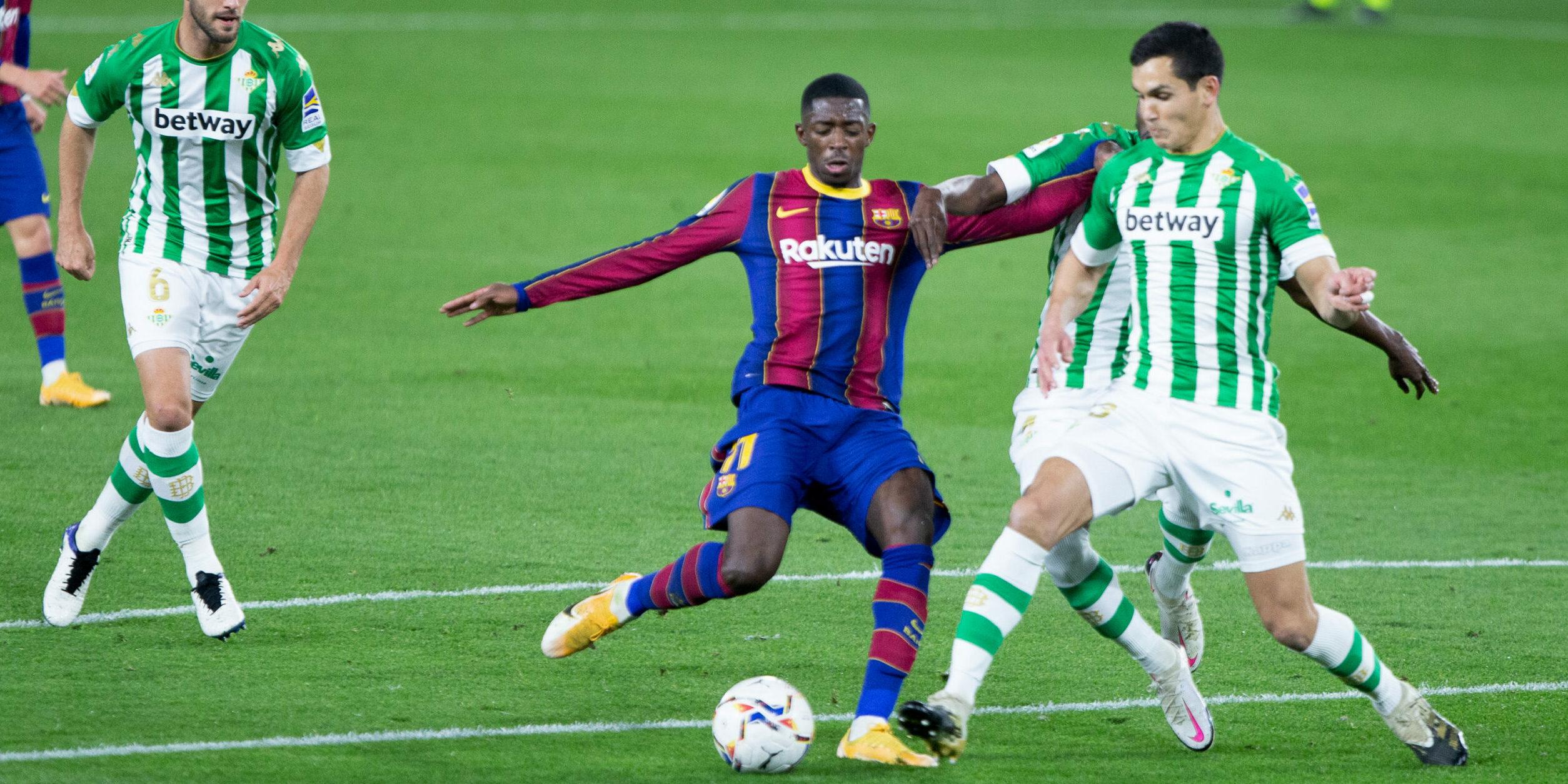 Dembélé, davanter del Barça | Europa Press