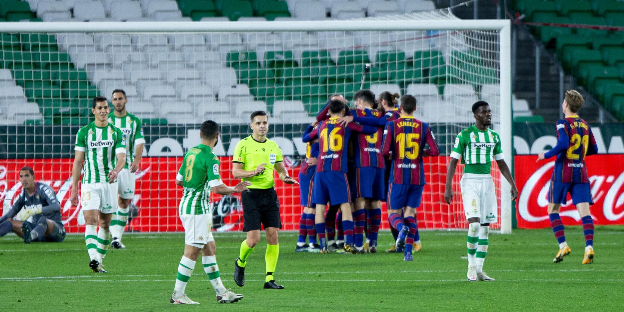 Els jugadors del Barça celebren un gol | Europa