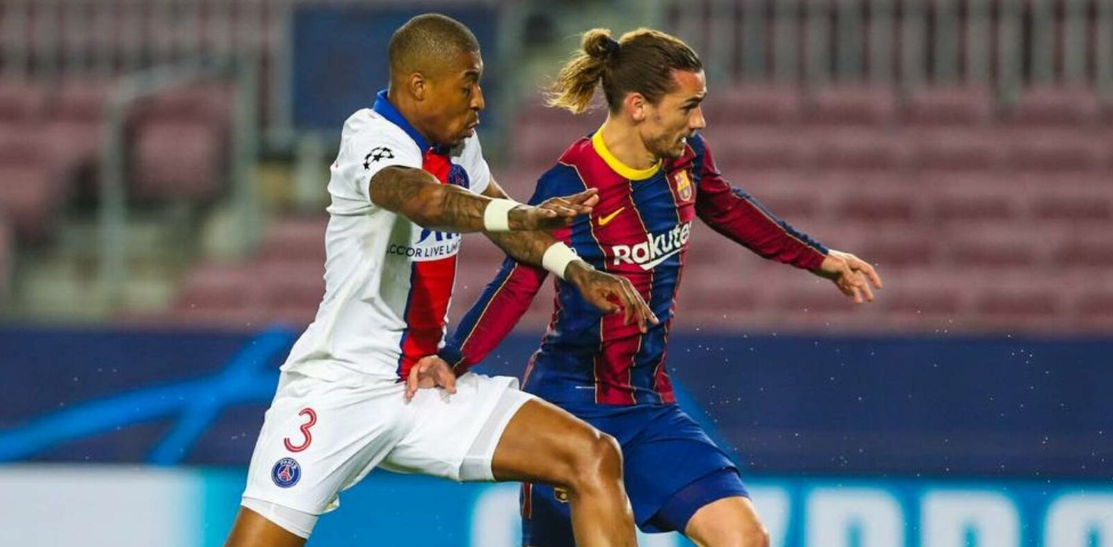 Antoine Griezmann, durant el partit contra el PSG | FC Barcelona