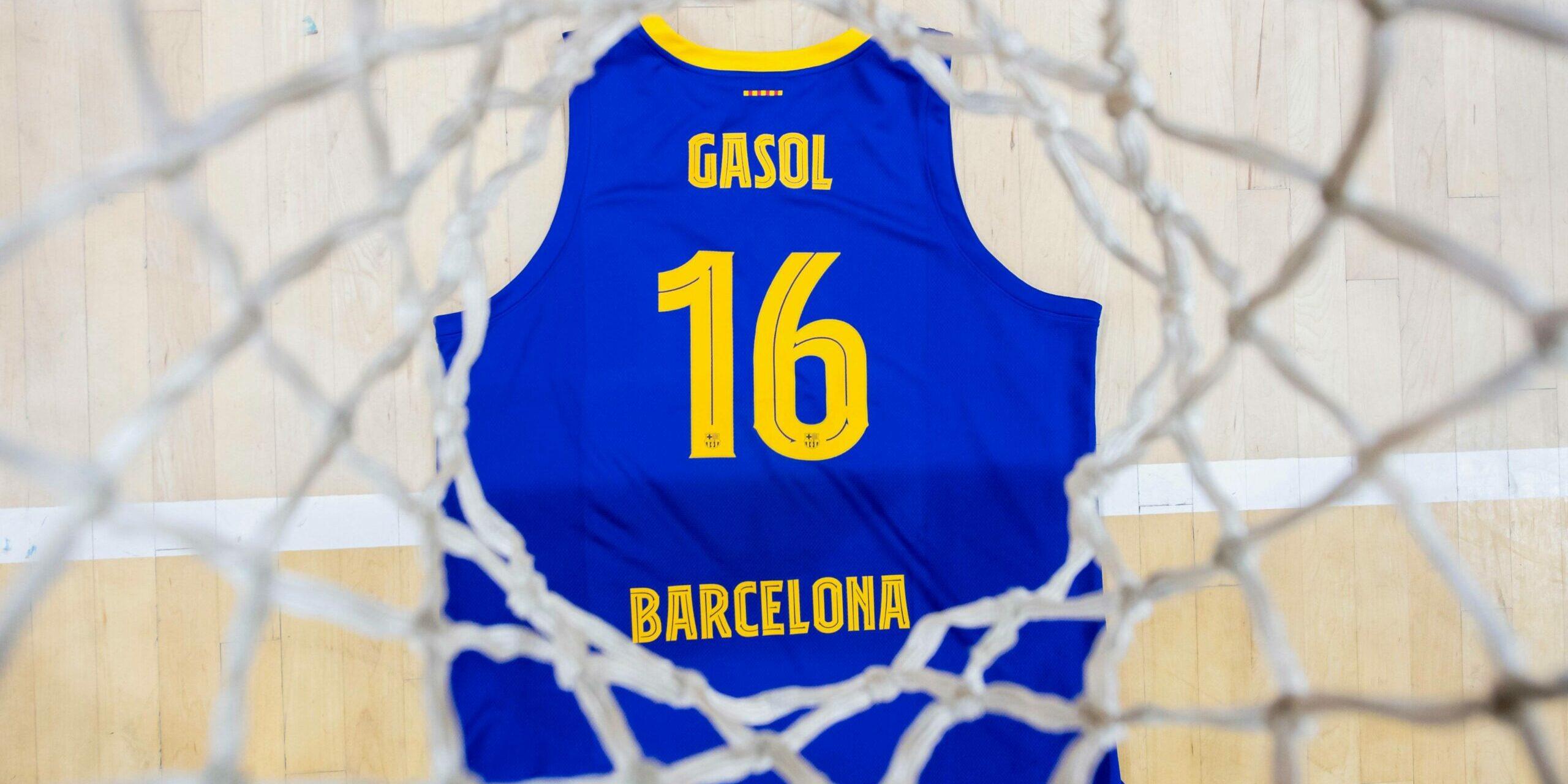 El dorsal de Pau Gasol com a blaugrana | FC Barcelona