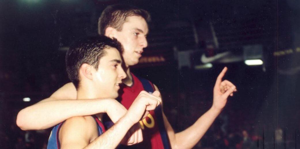 Pau Gasol, amb Juan Carlos Navarro | FC Barcelona