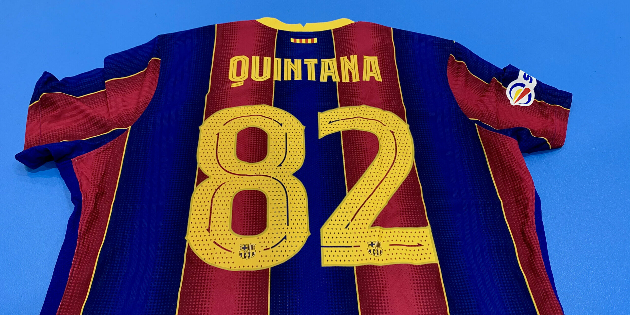 El dorsal d'Alberto Quintana, a la samarreta del Barça | FC Barcelona