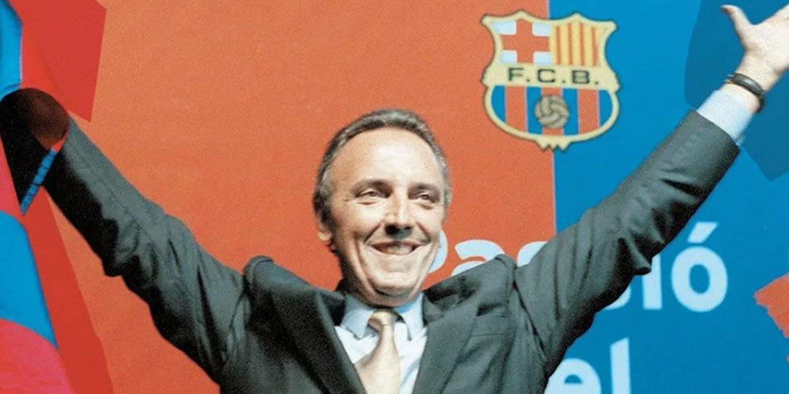 Joan Gaspart, ja com a president | FCB