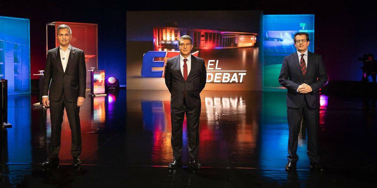 Font, Freixa i Laporta, a l'últim debat | TV3