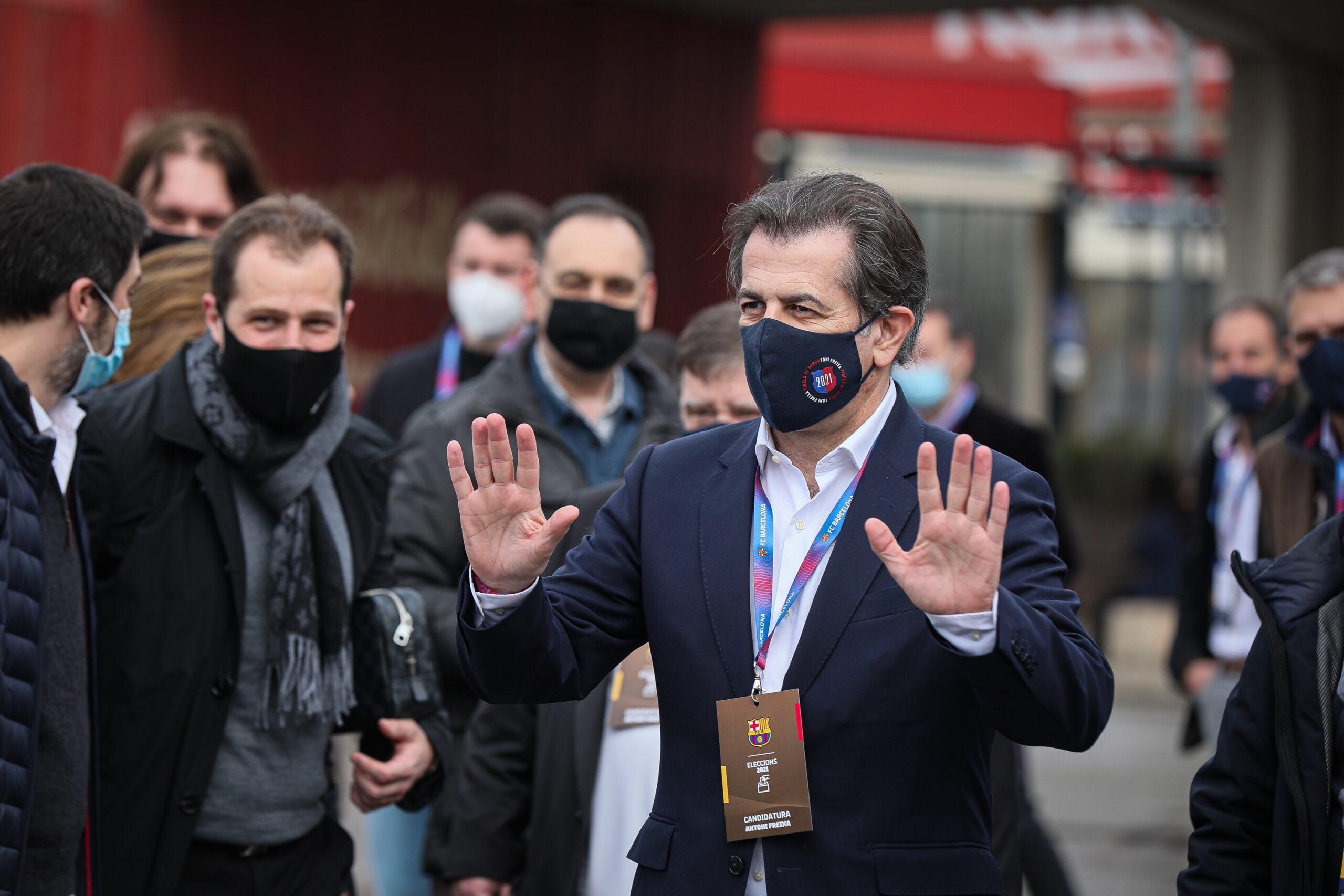 Toni Freixa, el dia de les eleccions | Jordi Borràs