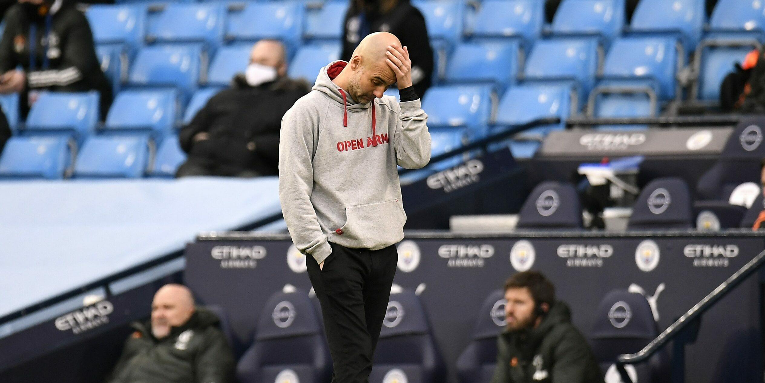 Pep Guardiola, entrenador del City   Europa Press