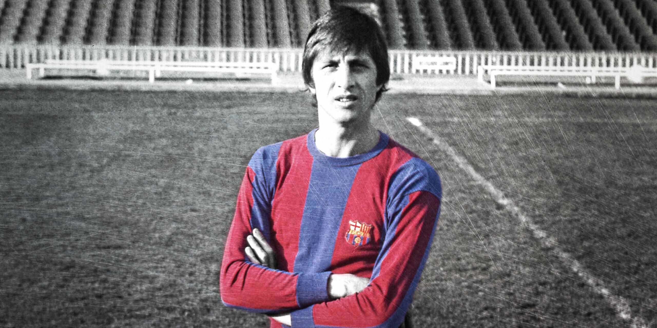 Johan Cruyff, amb la samarreta del Barça | FC Barcelona
