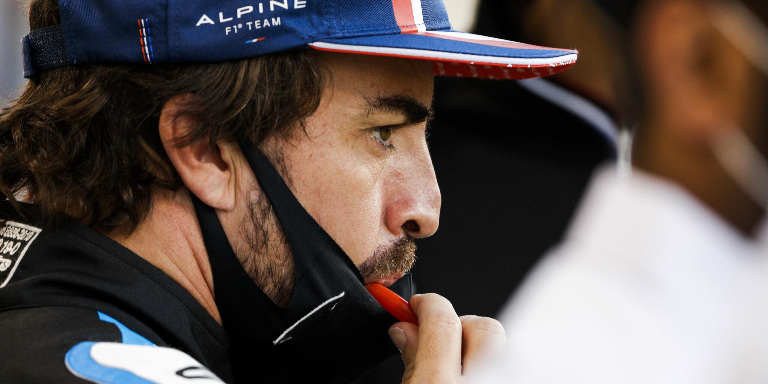 Fernando Alonso, amb l'escuderia Alpine | Europa Press