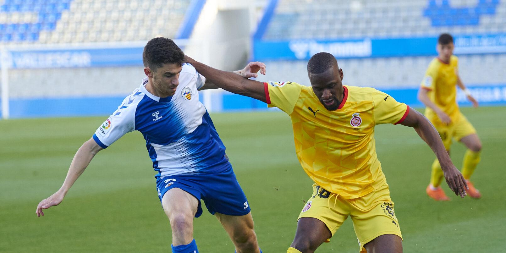 Imatge del derbi català entre Sabadell i Girona | Girona FC