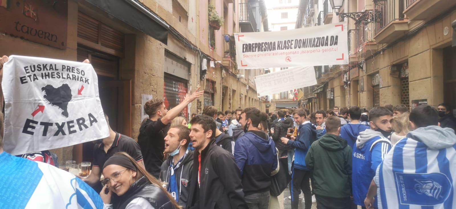 Els carrers de Donostia abans de la final | El Món