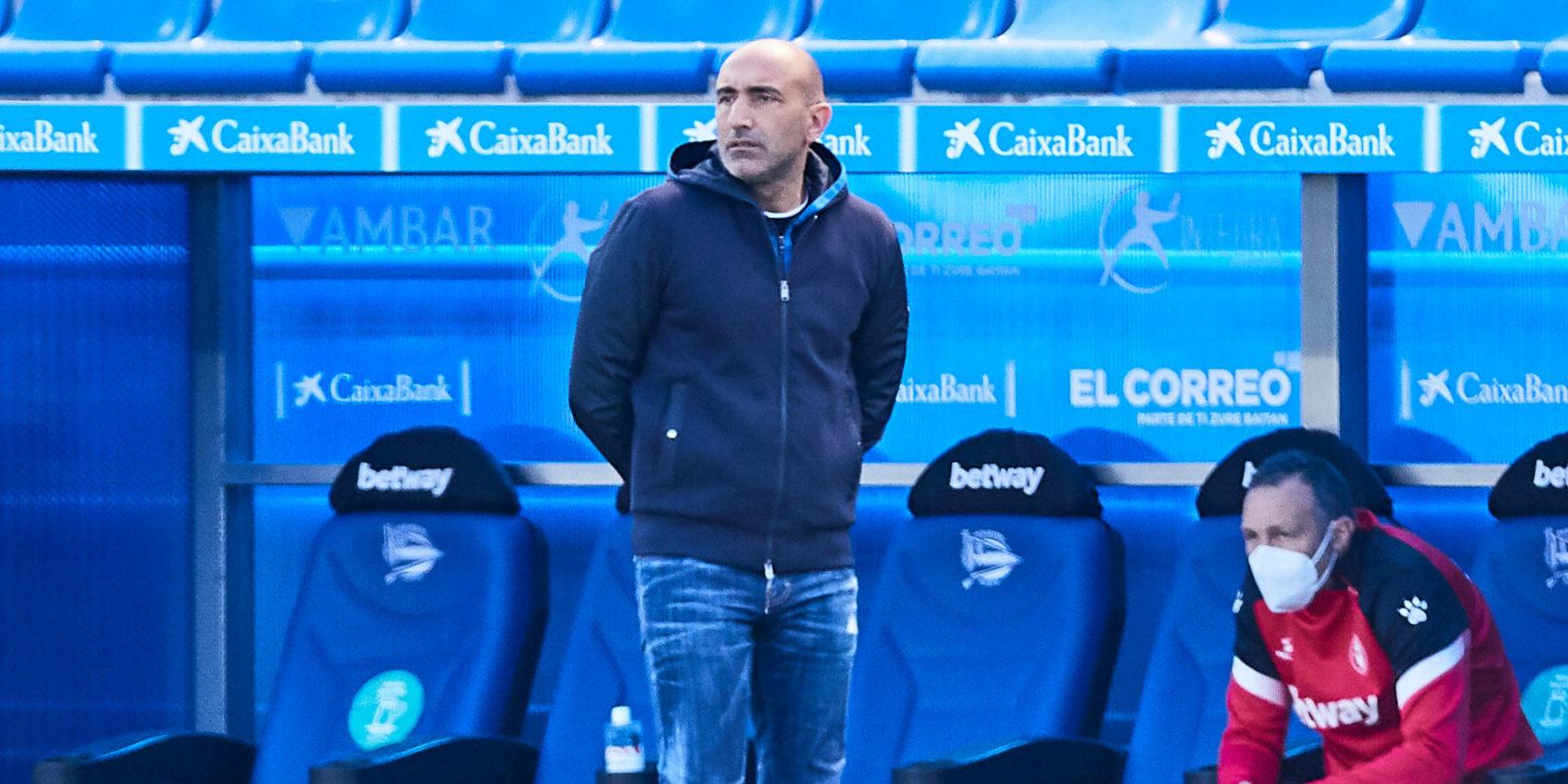 Abelardo, en el seu últim partit a l'Alabès | Europa Press