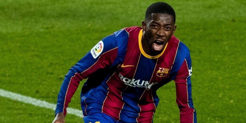 Dembélé, durant un partit amb el Barça | FC Barcelona