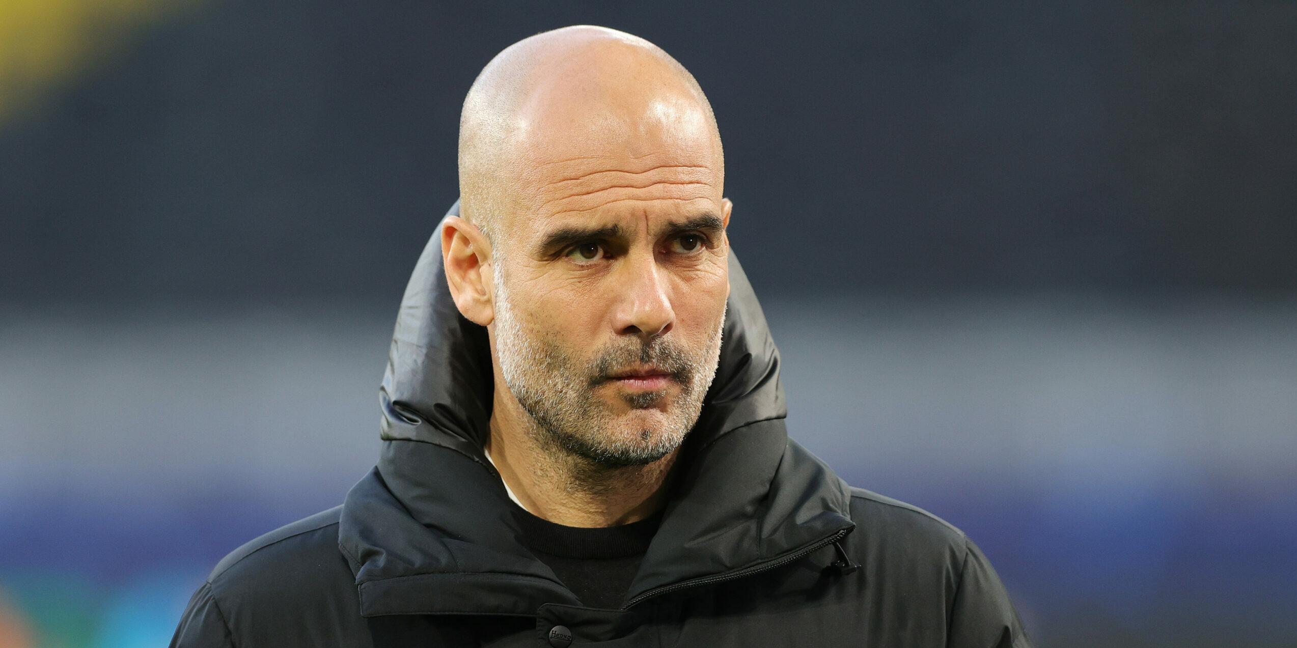Pep Guardiola, entrenador del City | Europa Press