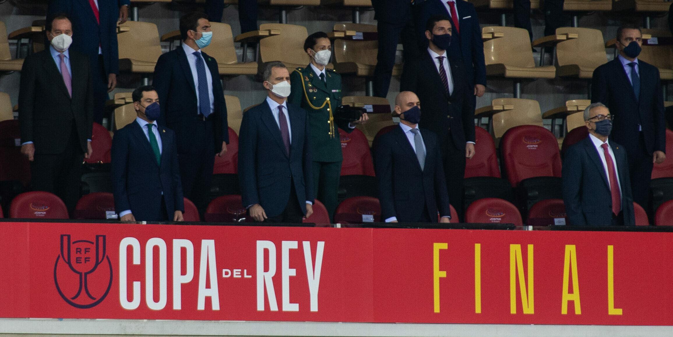 Felip de Borbó, a la final de Copa del 2020 entre Athletic i Reial Societat | Europa Press