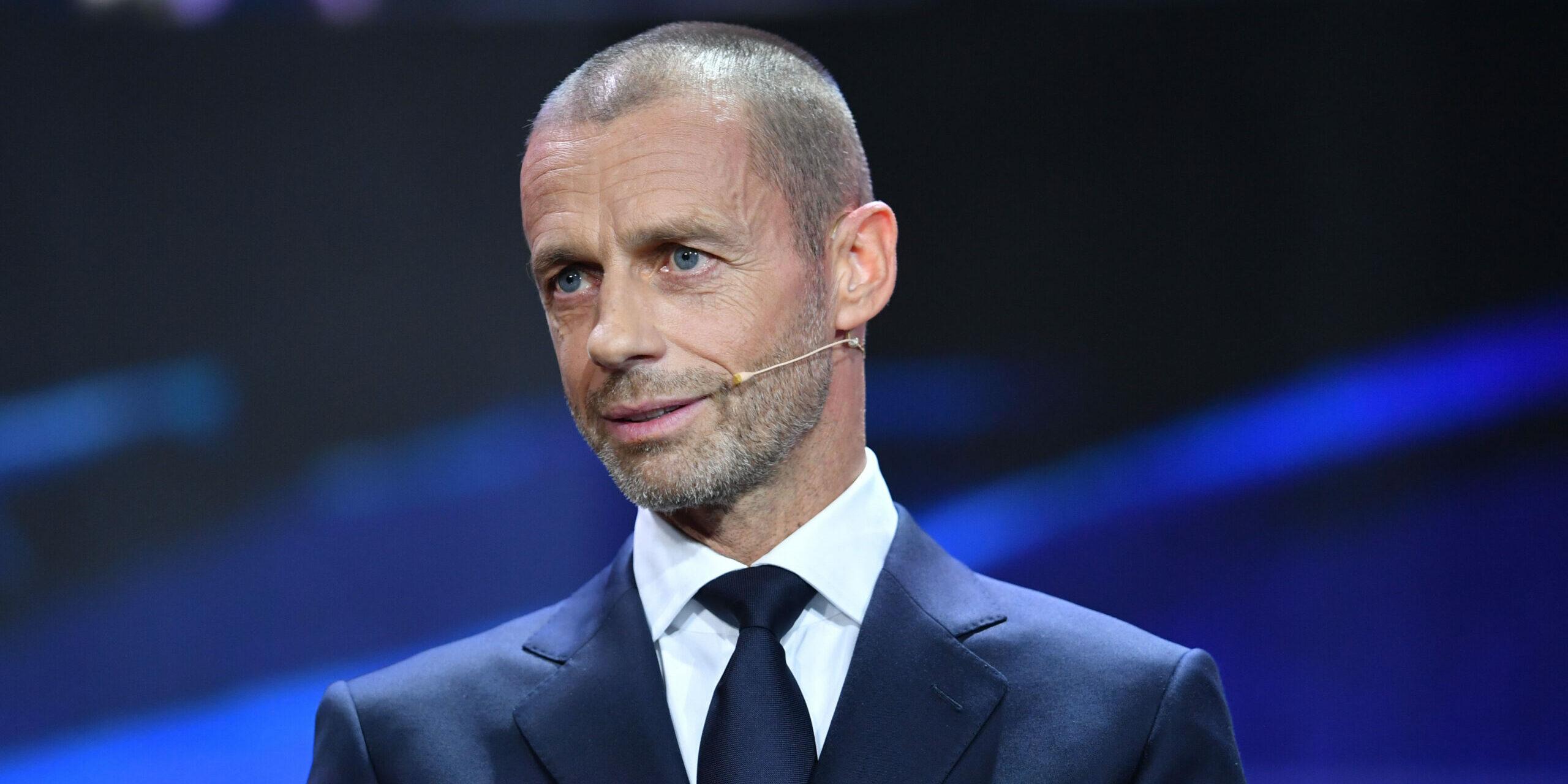 Aleksander Ceferin, president de la UEFA | Europa Press