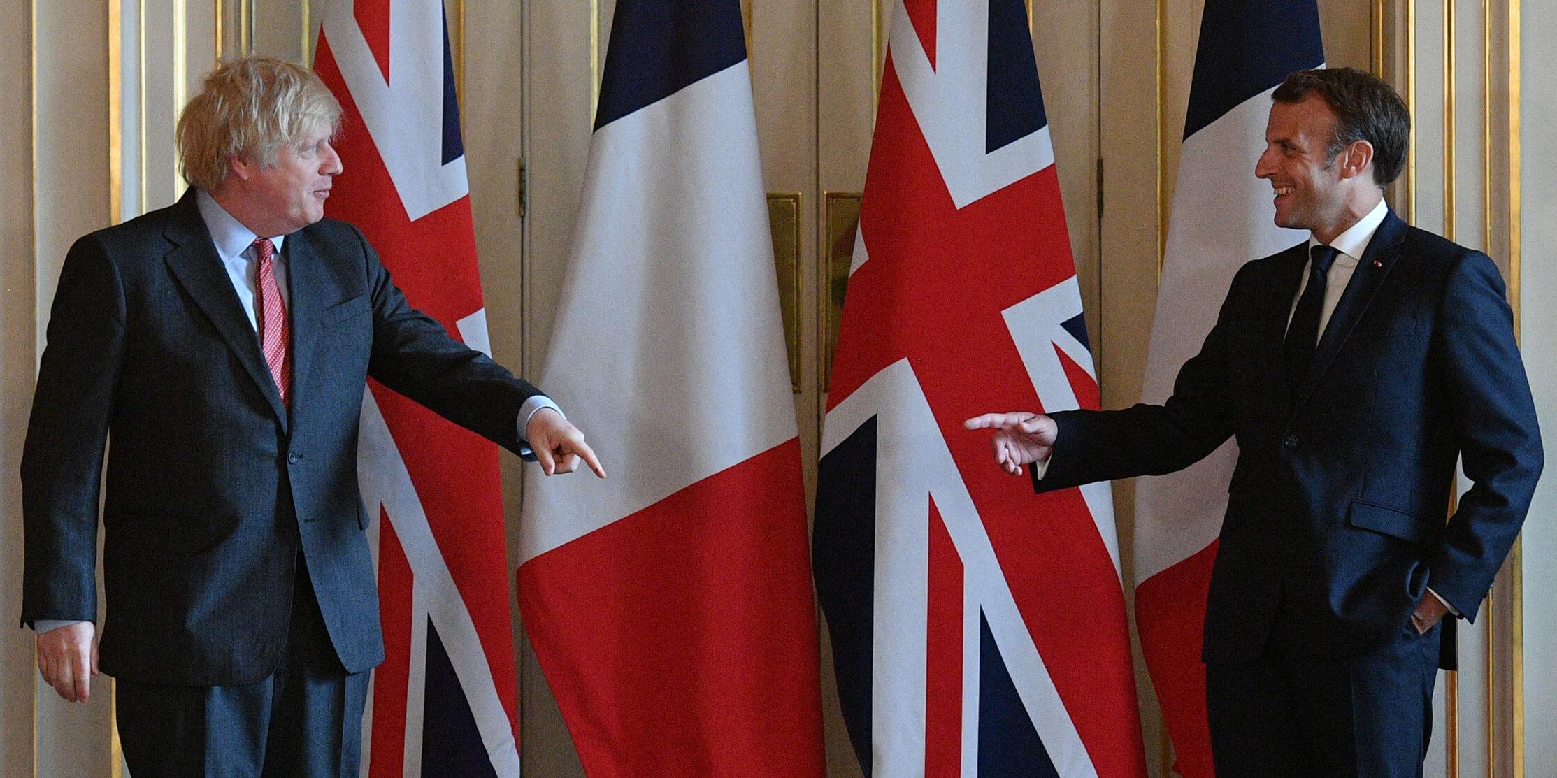 Boris Johnson i Emmanuel Macron, en arxiu | Europa Press