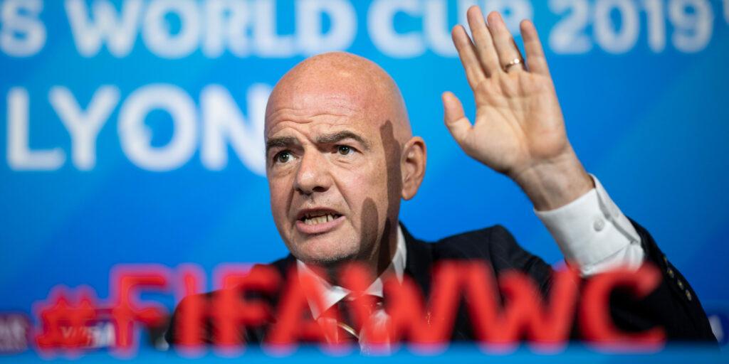 Gianni Infantino, president de la FIFA | Europa Press