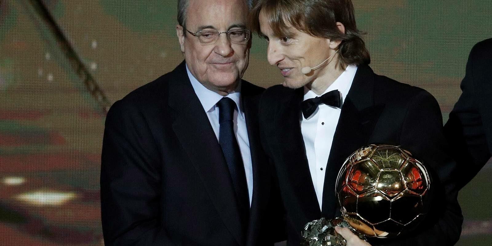 Florentino i Modric, en arxiu | EFE