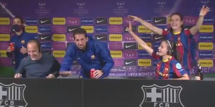 La roda de premsa de les jugadores | FCB