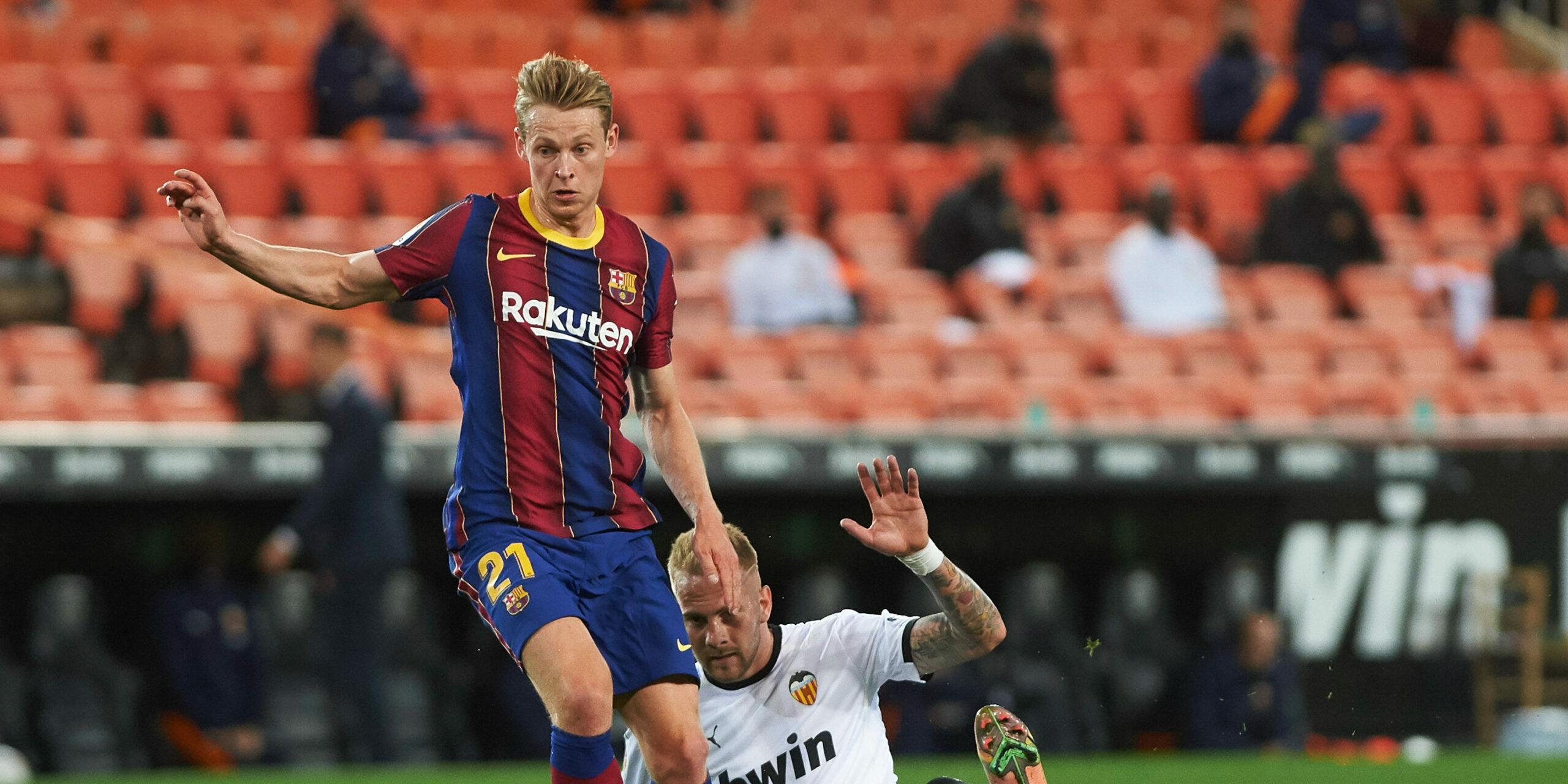 De Jong, jugador del Barça | Europa Press
