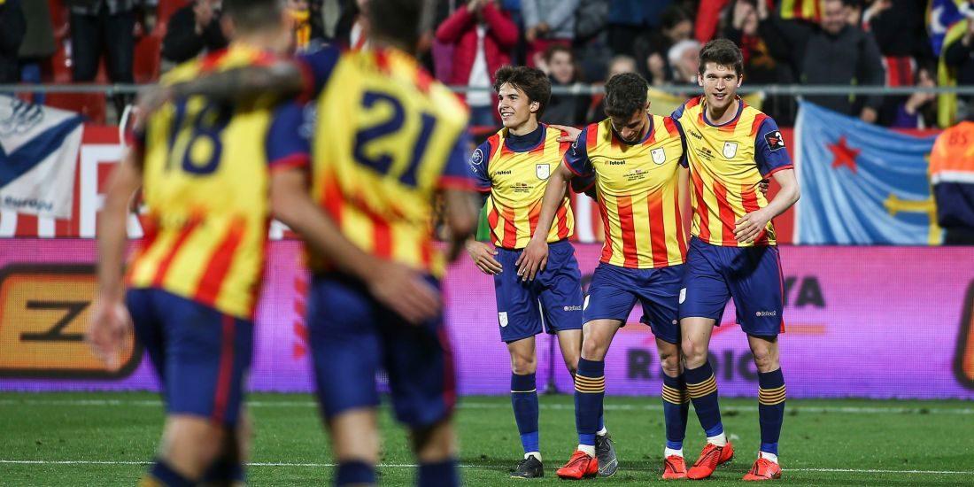 La selecció catalana, en arxiu | FCF