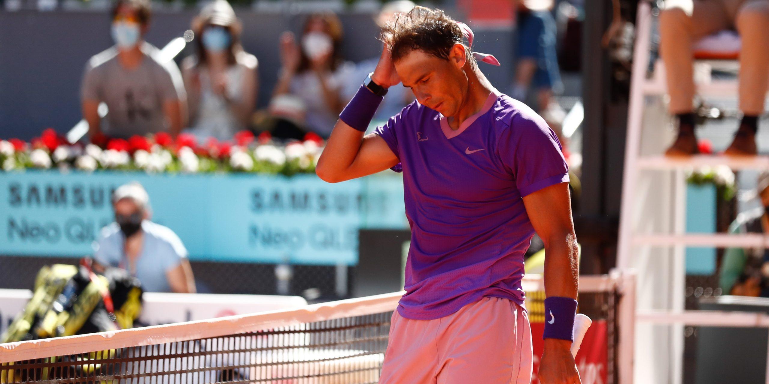 Rafa Nadal, a Madrid | Europa Press