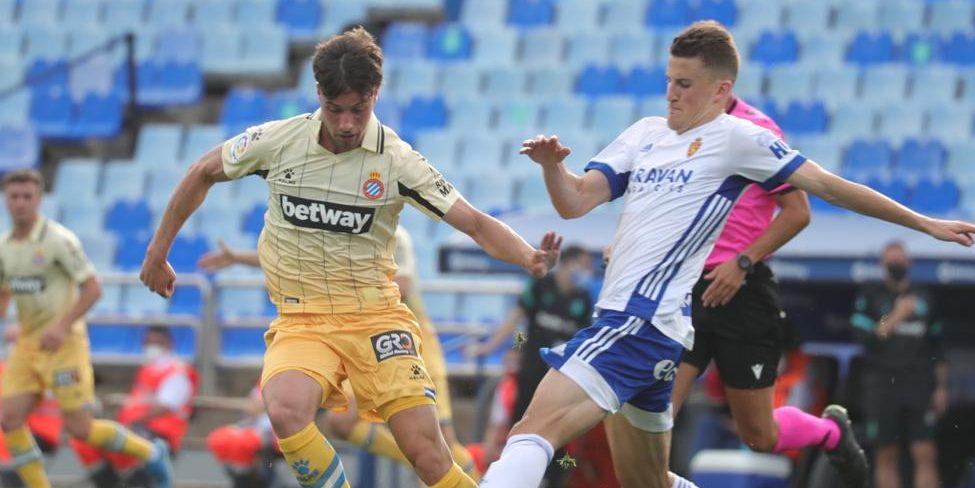 Jugadors de l'Espanyol i del Saragossa | RCDE