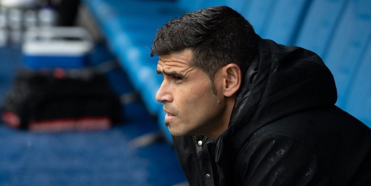 Antonio Hidalgo, entrenador del Sabadell | CE Sabadell