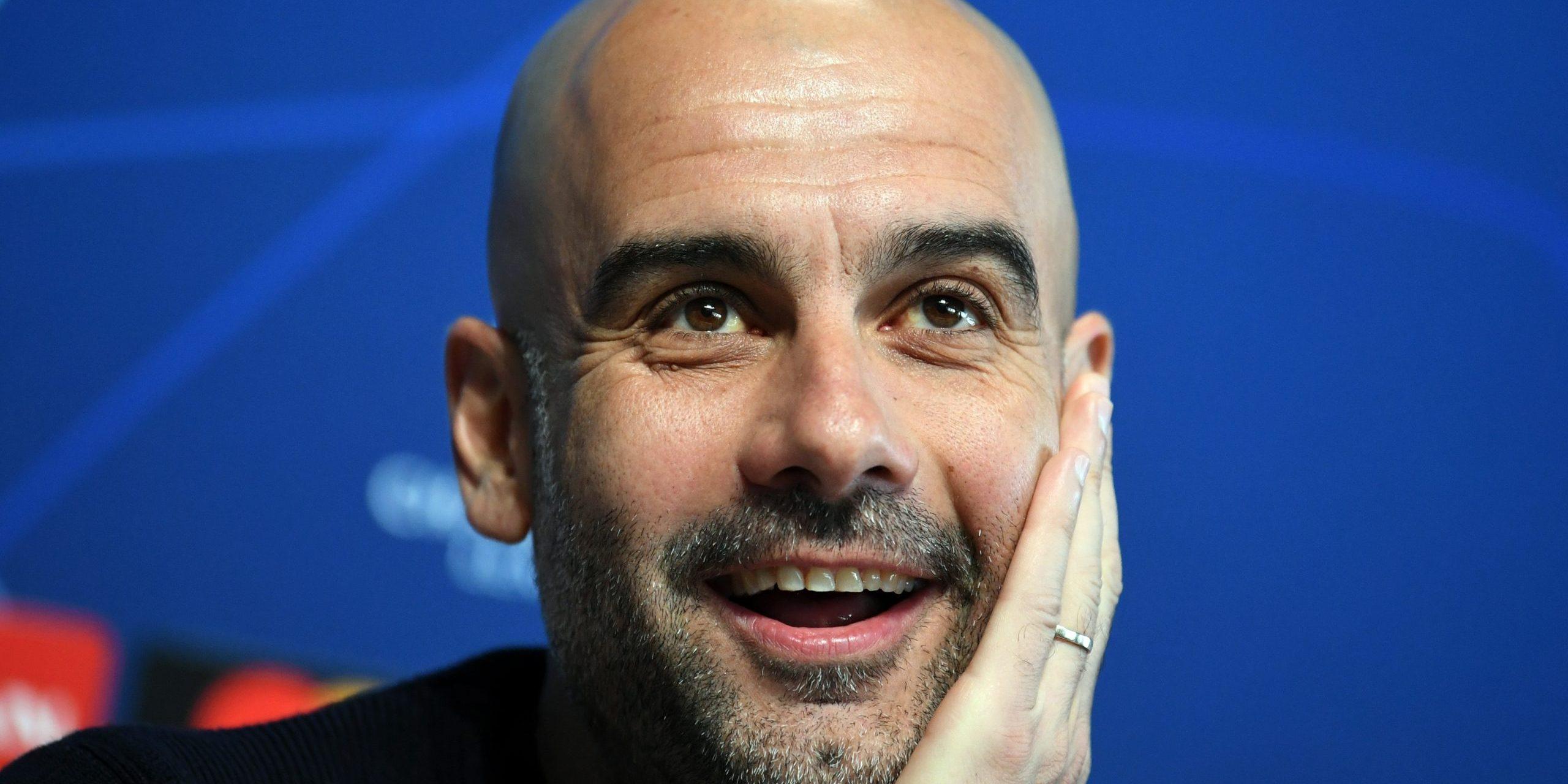 Pep Guardiola, en roda de premsa | Europa Press