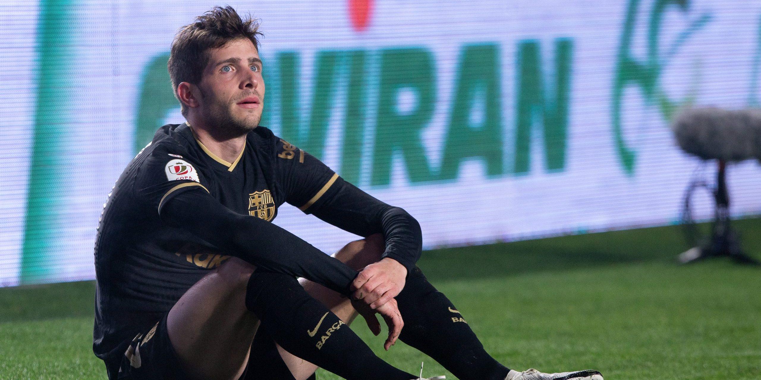 Sergi Roberto, jugador del Barça | Europa Press
