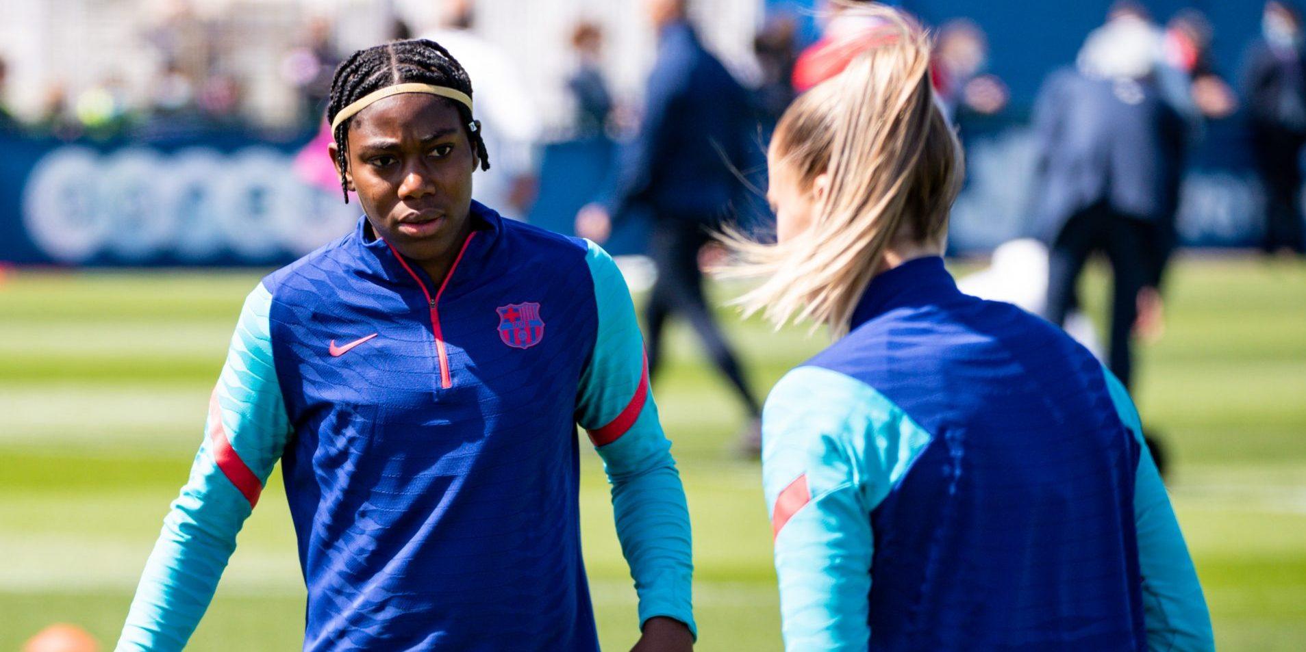 Asisat Oshoala, davantera del Barça | Europa Press