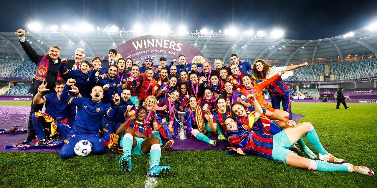 El Barça guanya la Champions del 2021 | FC Barcelona