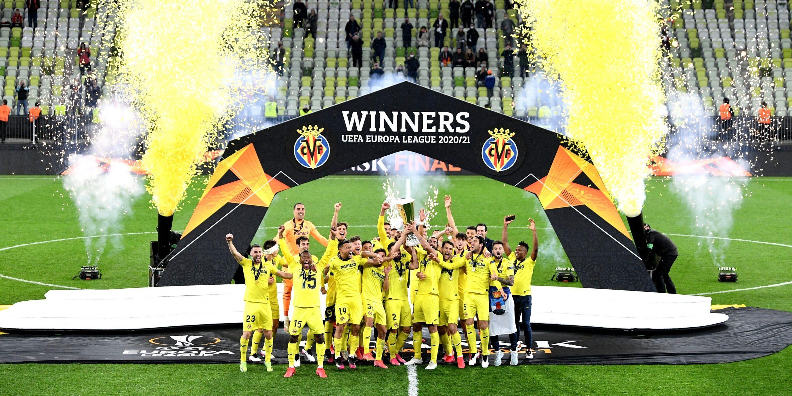 El Vila-real aixeca l'Europa League | Europa Press