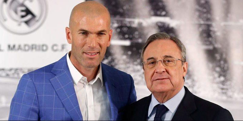 Zidane i Florentino, en arxiu | Real Madrid CF