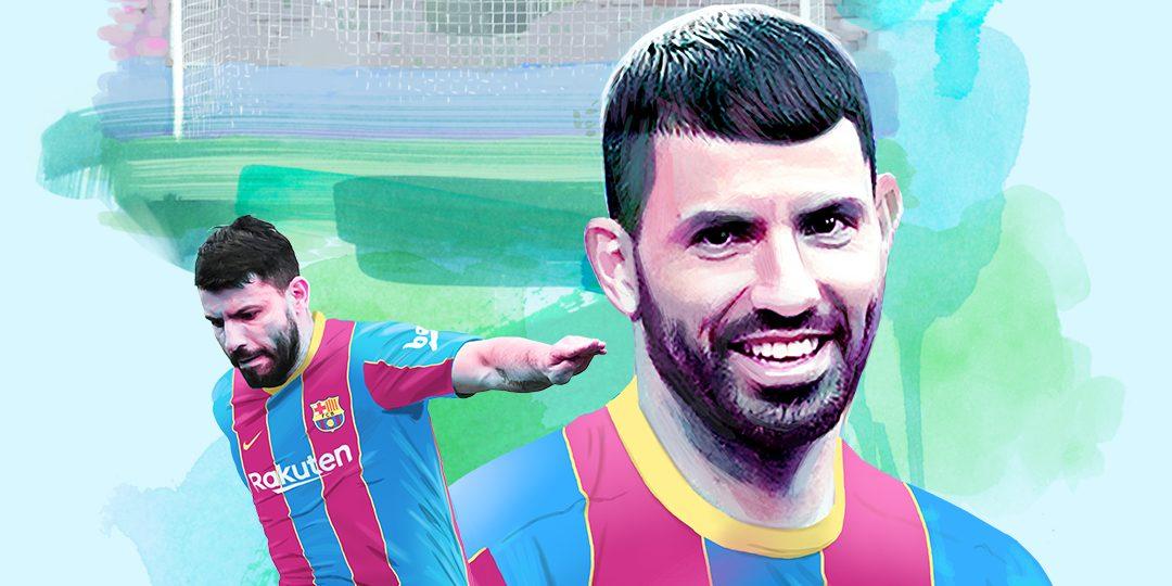 Agüero, amb la samarreta del Barça | FC Barcelona