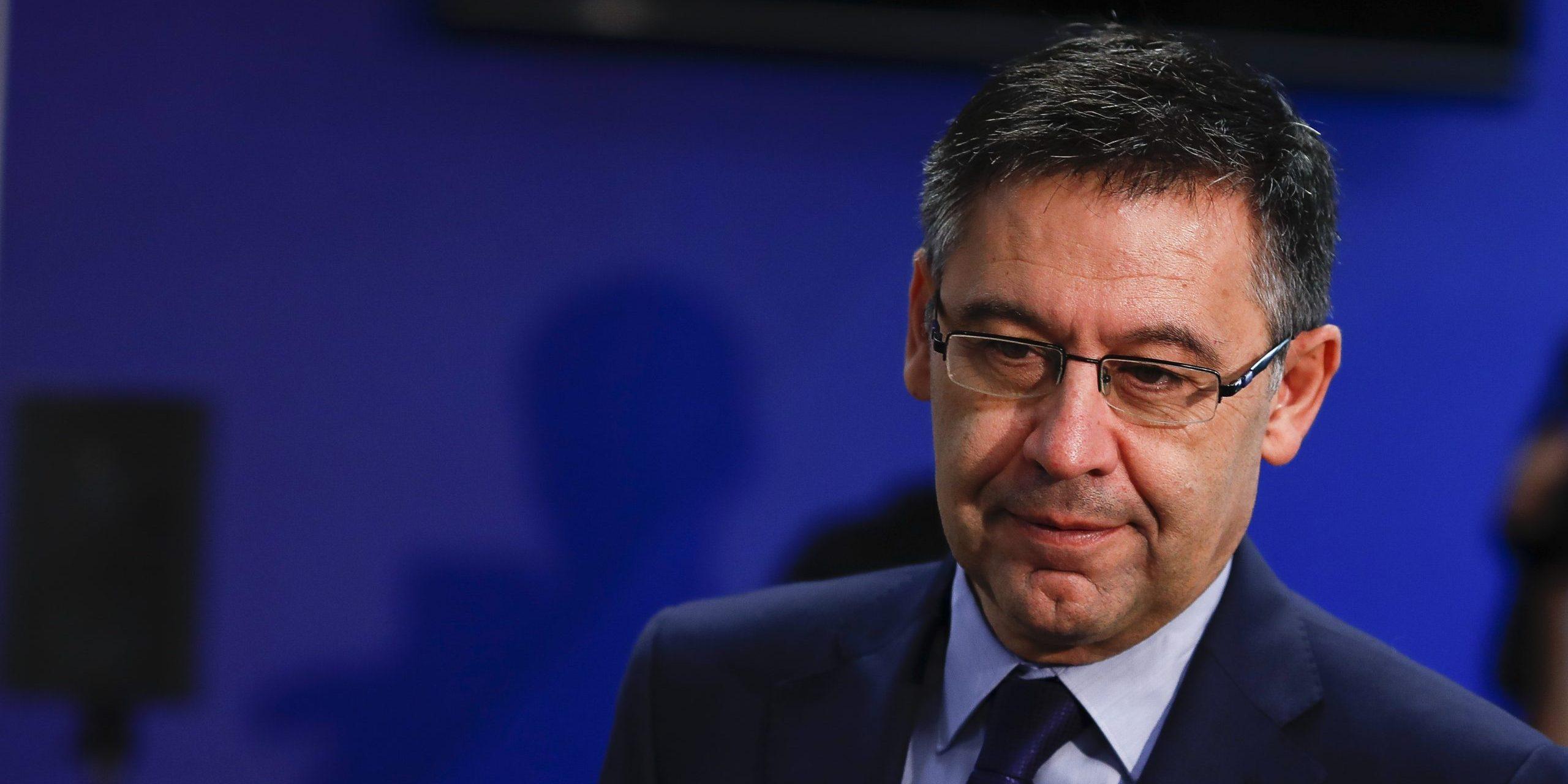 Josep Maria Bartomeu, en arxiu | Europa Press