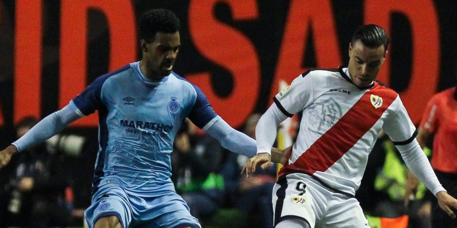 El Girona i el Rayo, en un partit de Lliga | Europa Press