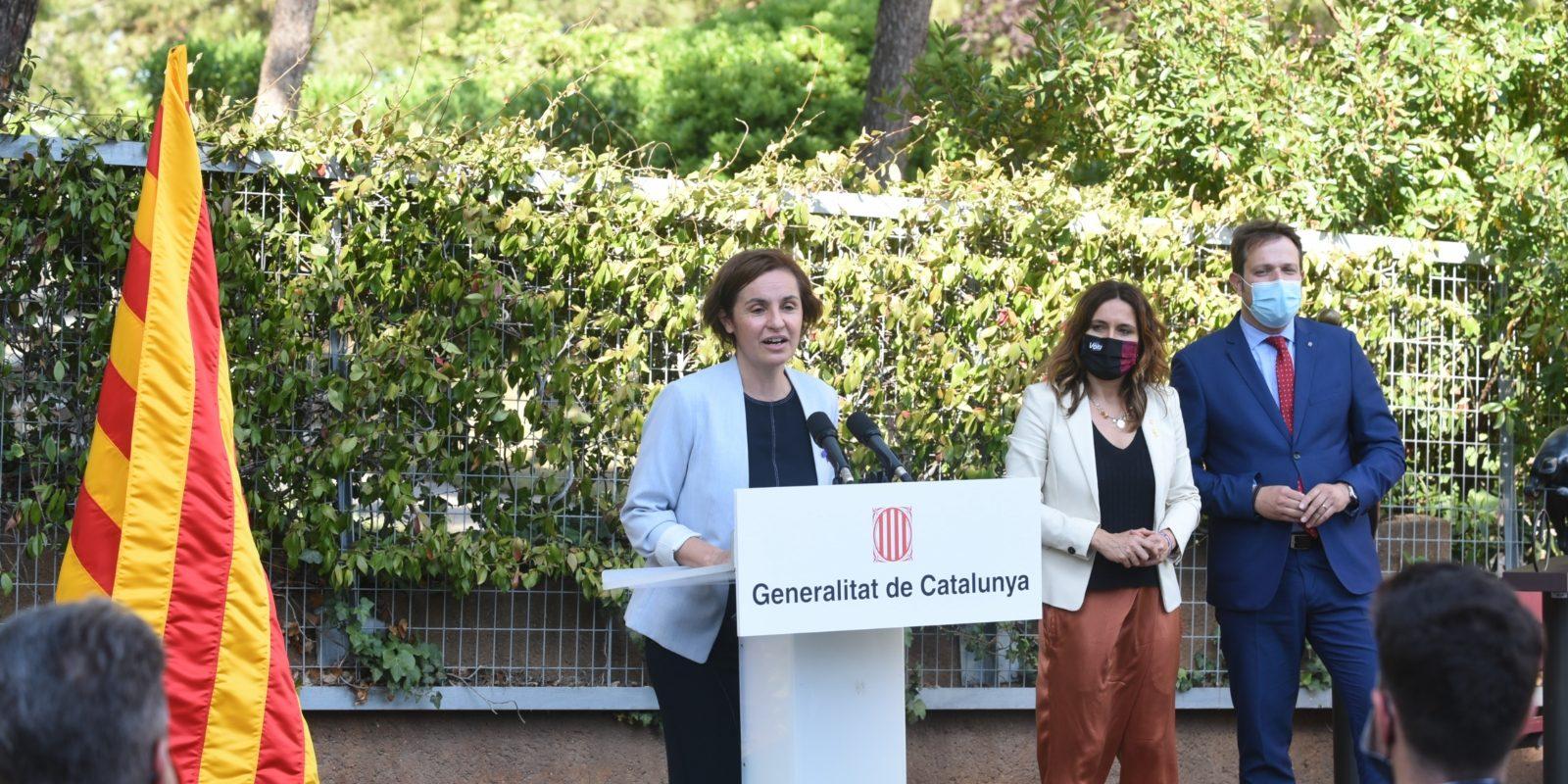 Anna Caula pren possessió del càrrec de secretària general de l'Esport   @esportcat