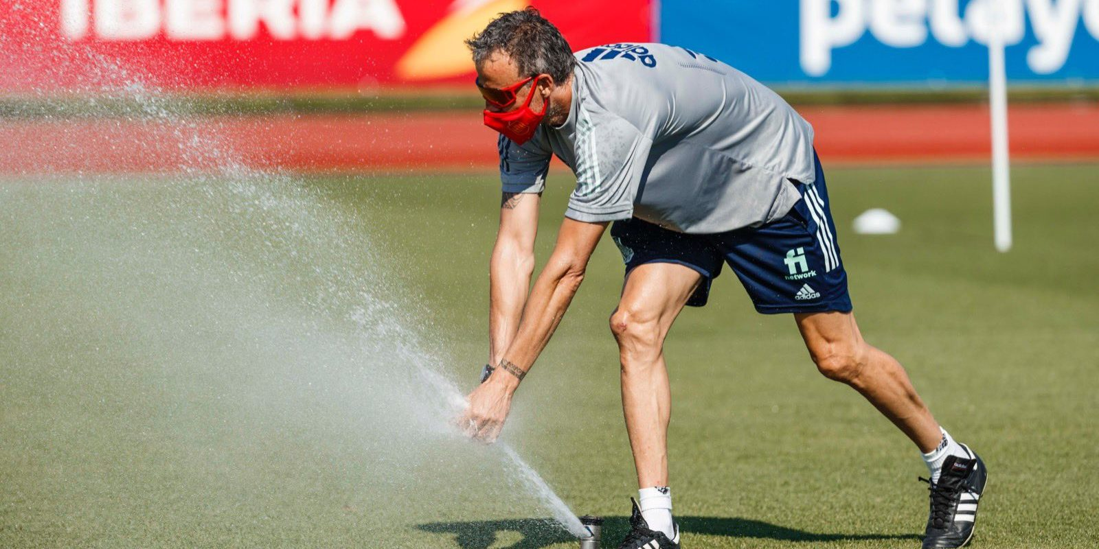 Luis Enrique, durant la preparació de l'Eurocopa | Europa Press