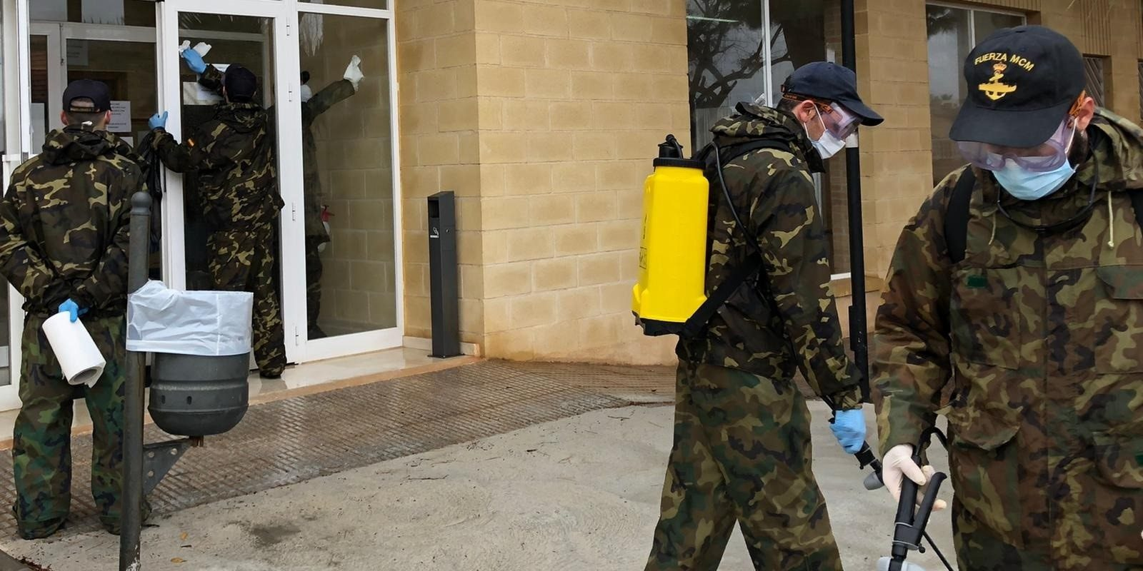 L'Exèrcit, durant el confinament | Europa Press