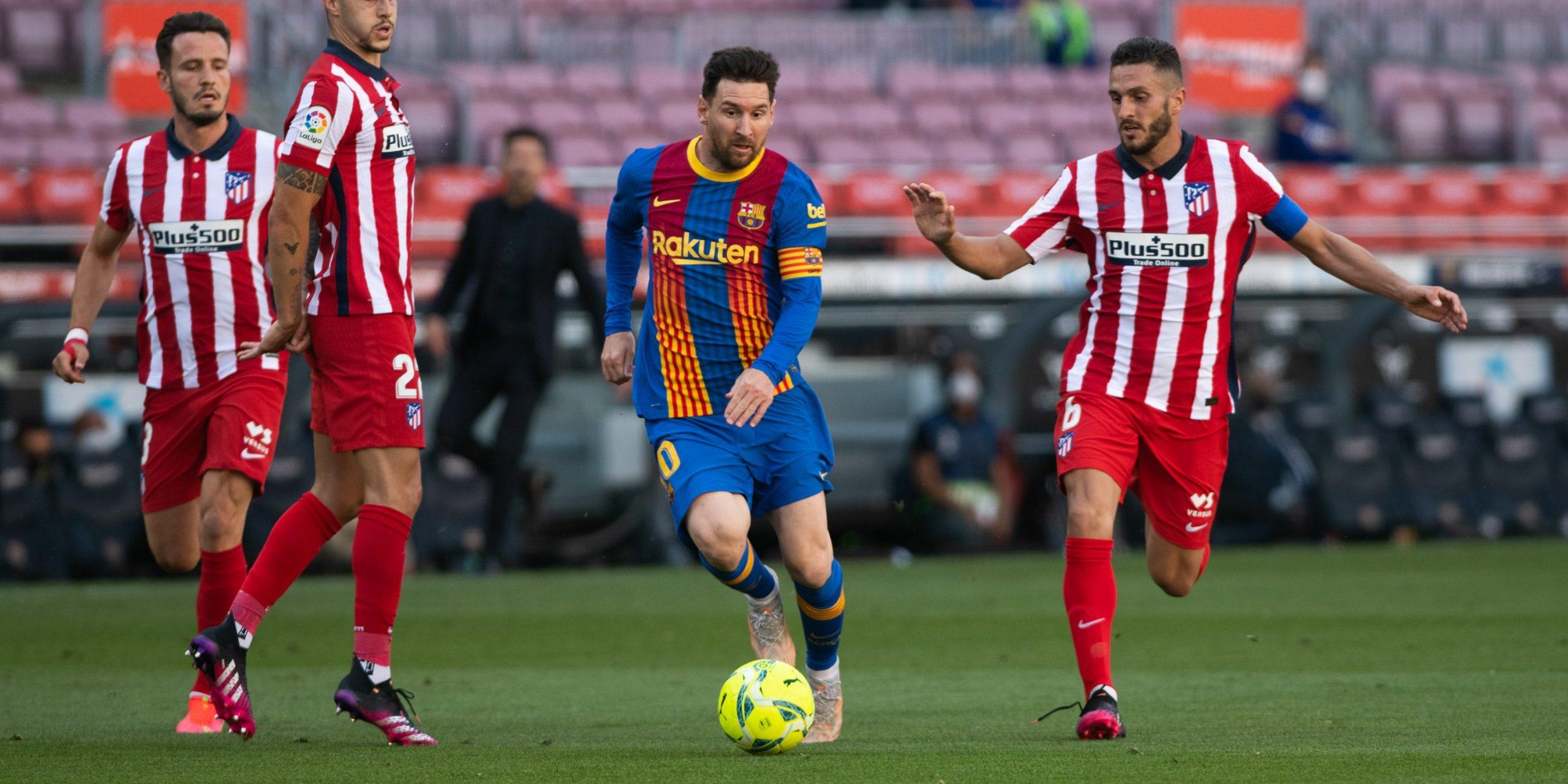 Messi, durant un partit contra l'Atlètic   Europa Press