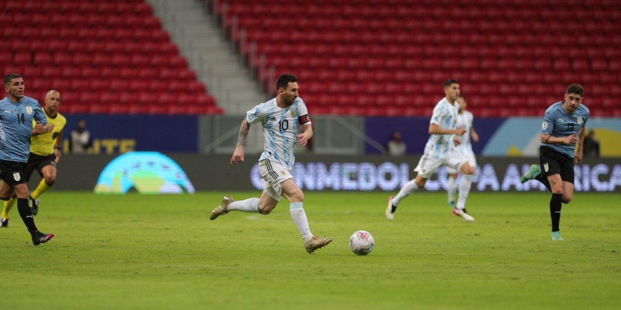 Messi ha fet un gran partit contra Uruguai | Selecció argetina