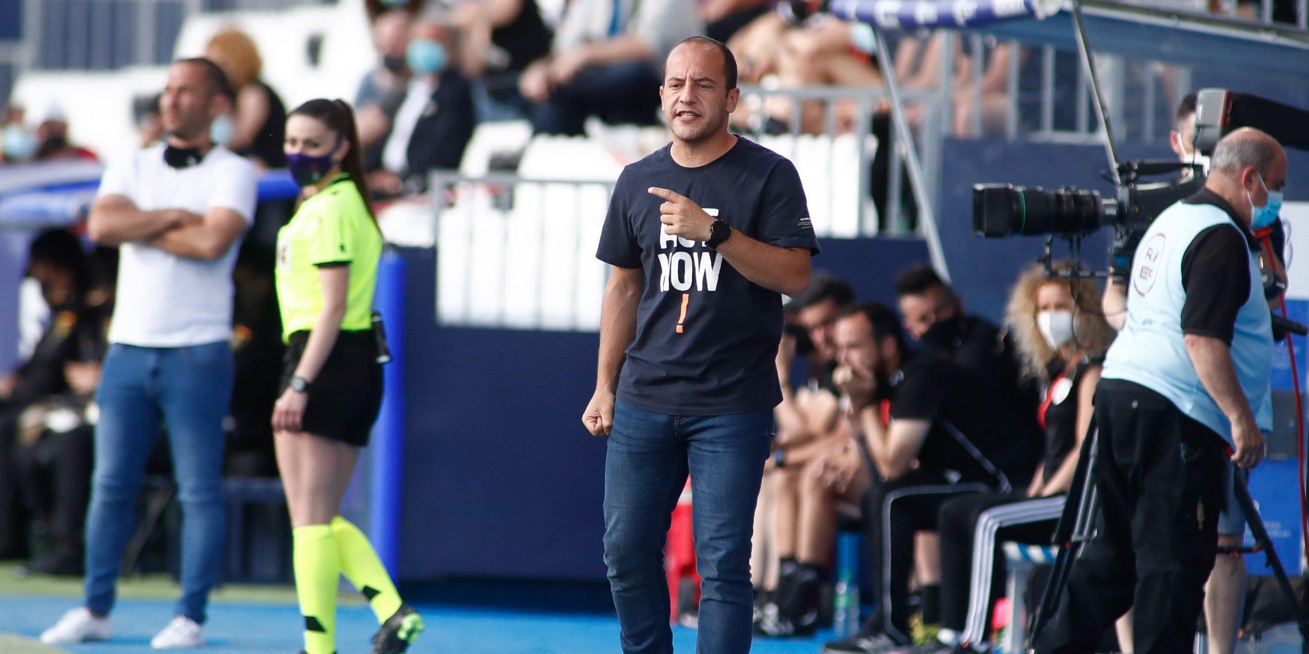 Lluís Cortés durant la Copa de la Reina | Europa Press