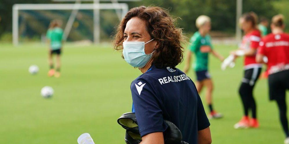 Natàlia Arroyo, entrenadora de la Reial Societat | @natarroyo
