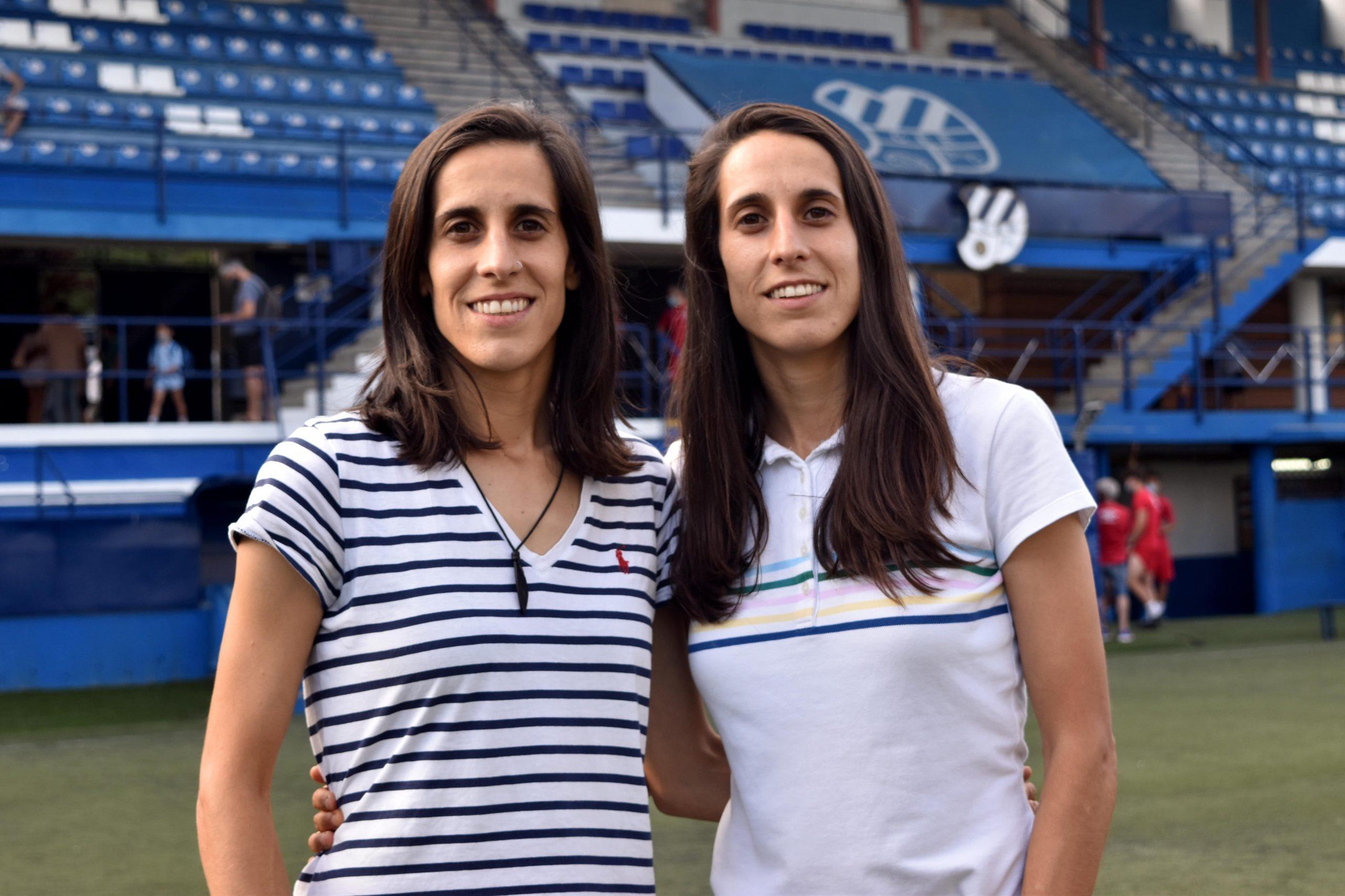 Les germanes Porta, capitanes del primer equip femení de l'Europa   Jordi Batuecas