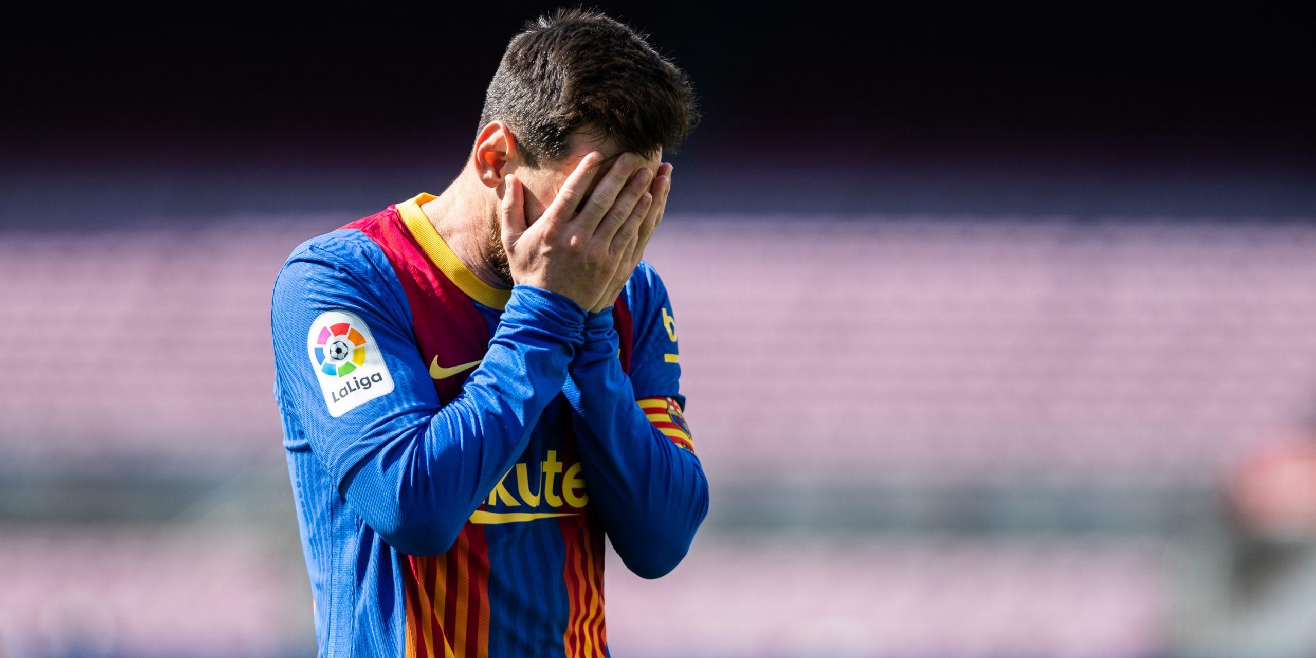 Leo Messi, durant un partit | FC Barcelona