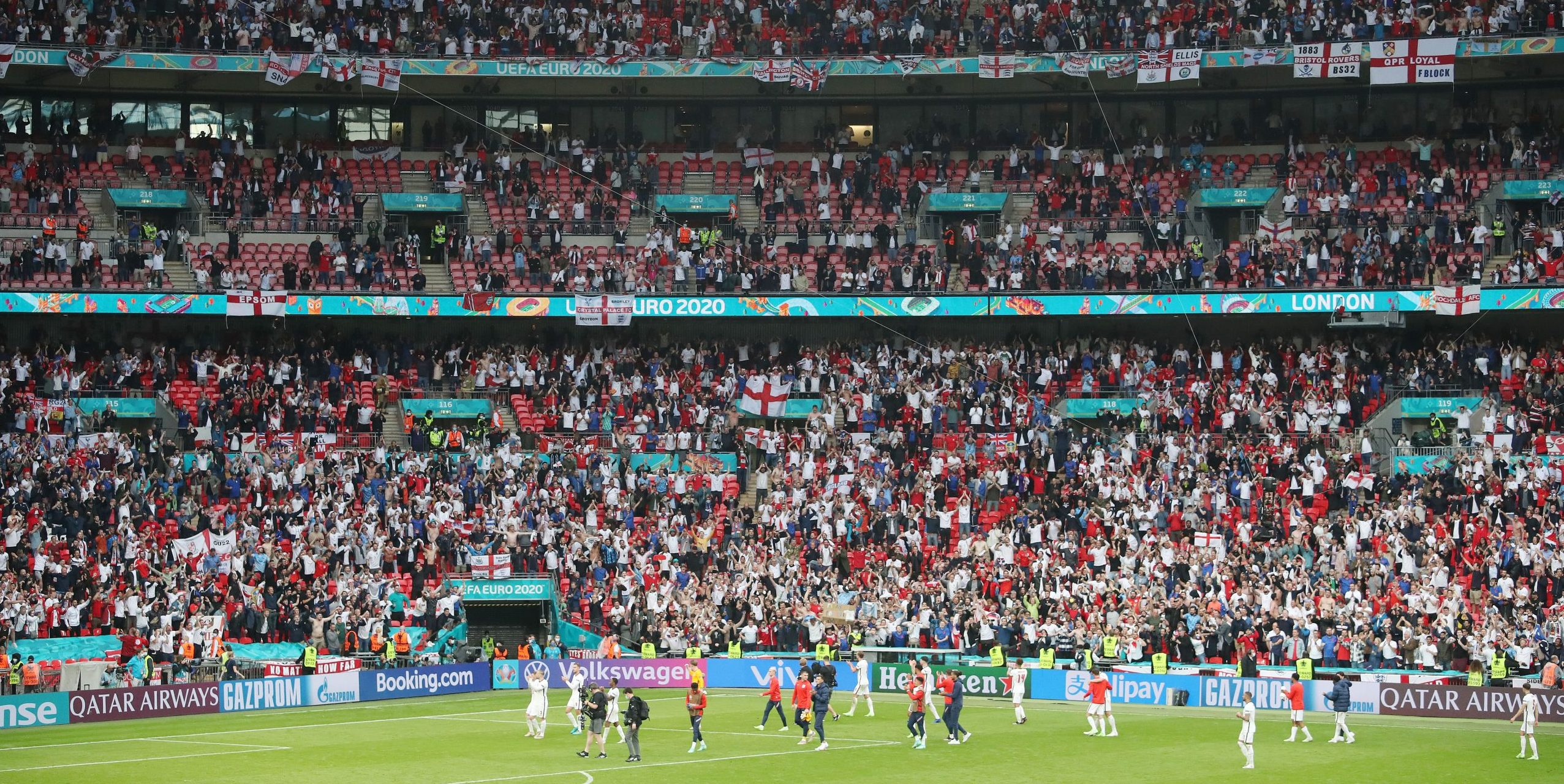 Wembley serà l'escenari de les semifinals i la final   Europa Press