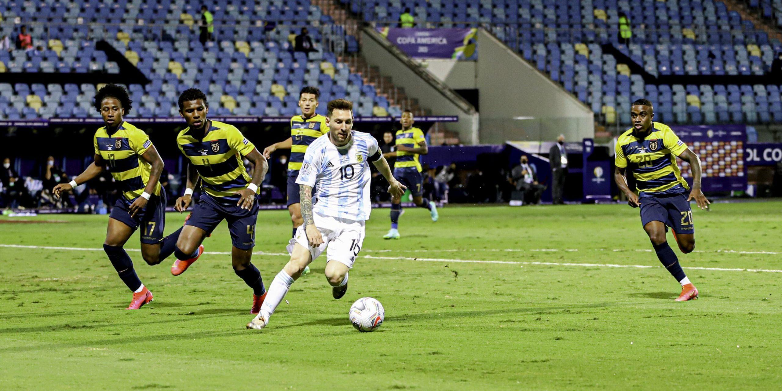 Messi ha estat el millor jugador dels quarts de final | Europa Press